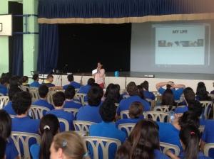 Sandra Perdomo sharing her life & testimony